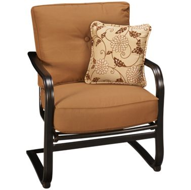 Agio Willowbrook Patio Furniture.Agio International Willowbrook Deep Seat Spring Chair With Toss Pillow