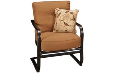 Agio International Willowbrook Deep Seat Spring Chair with