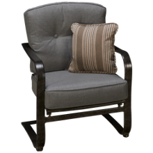 Agio International Madison C-Spring Chair
