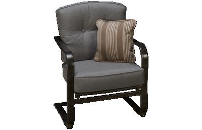 Agio International Madison C-Spring Chair