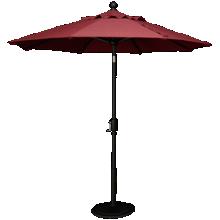 Treasure Garden Canopy 7.5' Push Button Umbrella