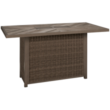 Ashley Beachcroft Dining Table with Fire Pit
