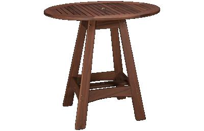 Jensen Outdoor Ipe Capri Bar Table