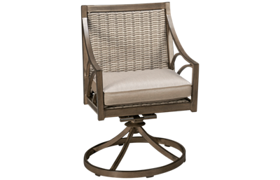 Agio International Potomac Swivel Rocker with Cushion Seat