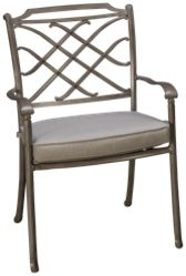 Agio International Sydney Dining Chair with Cushion