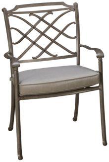 Agio International Sydney Dining Chair with Cushion