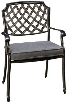 Agio International Madison Dining Chair with Cushion