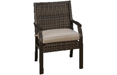 Agio International Trenton Dining Chair with Seat Cushion
