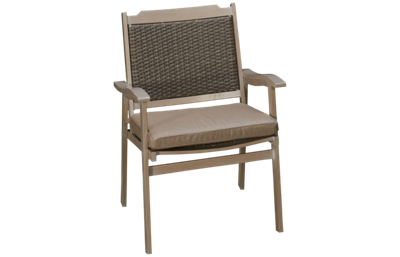 Agio International Lakehouse Dining Chair with Seat Cushion