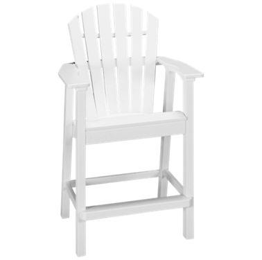 Sensational Seaside Casual Furniture Adirondack Shellback Balcony Arm Chair Ncnpc Chair Design For Home Ncnpcorg