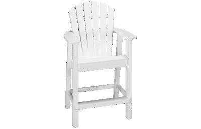 Seaside Casual Furniture Adirondack Shellback Balcony Arm Chair