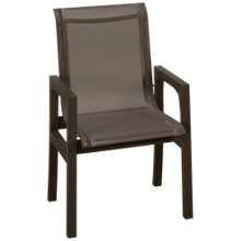 Klaussner Home Furnishings Delray Sling Arm Chair