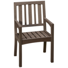 Klaussner Home Furnishings Delray Dining Arm Chair