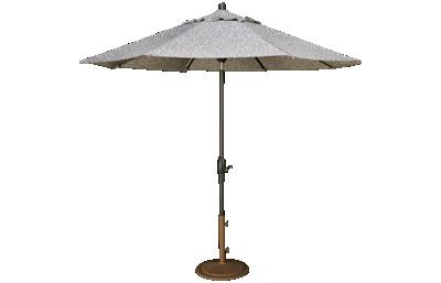 Treasure Garden Canopy 9' Auto Tilt Market Umbrella