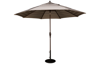 Treasure Garden Canopy 11' Auto Tilt Market Umbrella