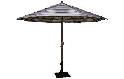 Treasure Garden Canopy 11' Auto Tilt Market Umbrella