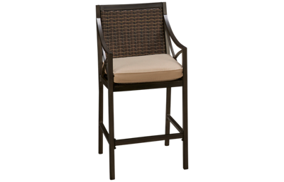 Agio International Davenport Woven Bar Stool