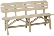 """Seaside Casual Furniture Portsmouth 60"""" Bench"""