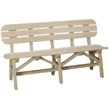 "Seaside Casual Furniture Portsmouth 60"" Bench"