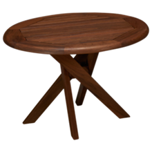 Jensen Leisure Ipe Topaz Round Side Table