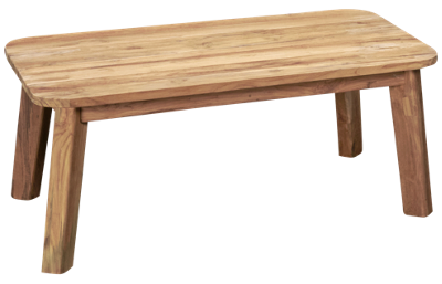 ScanCom Bahamas Rectangular Cocktail Table