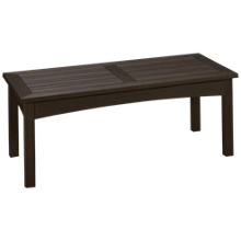 Klaussner Home Furnishings Delray Rectangle Cocktail Table