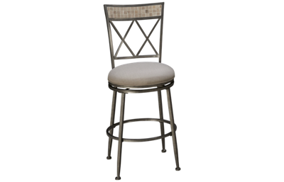 "Hillsdale Furniture Milestone 26"" Outdoor Swivel Stool"