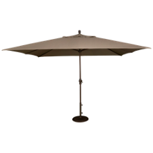 Treasure Garden Canopy 8' X 11' Crank Lift Umbrella