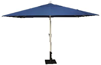 Treasure Garden Canopy 8' X 11' Crank Lift Umbrella