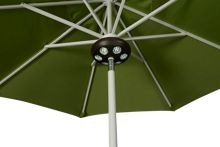 "Treasure Garden Canopy 9"" Bronze Umbrella Light"