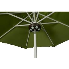 "Treasure Garden Canopy 9"" Bronze Umbrella Light"
