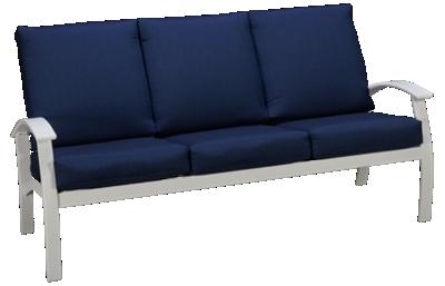 Telescope Casual Furniture Bell Cushion Belle Isle 3 Seat Sofa