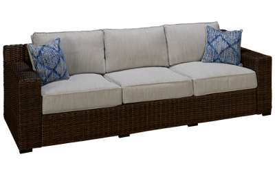 Ashley  Alta Grande Sofa with Cushions and 2 Toss Pillows