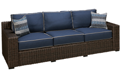Ashley Grasson Lane Sofa with Cushions