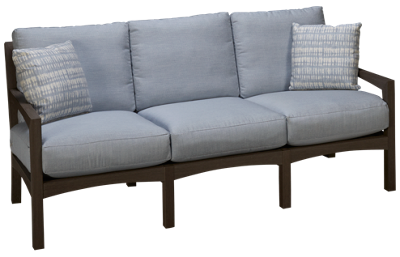 Klaussner Home Furnishings Delray Sofa with Cushions