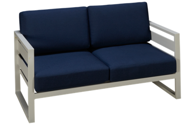 Gathercraft Capri Loveseat with Cushion