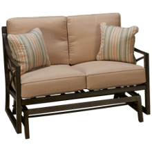 Agio International Davenport Loveseat Glider
