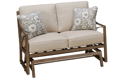 Agio International Potomac Loveseat Glider