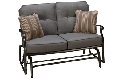 Agio International Madison Loveseat Glider