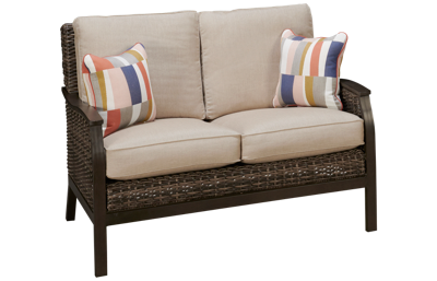 Agio International Trenton Loveseat Glider