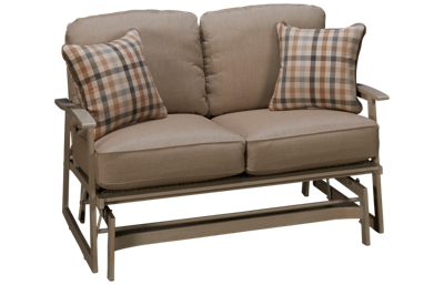 Agio International Lakehouse Loveseat Glider