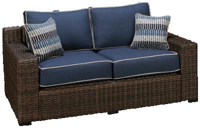 Ashley Grasson Lane Loveseat with Cushions