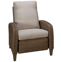 Klaussner Home Furnishings Tidepointe Power High Leg Recliner