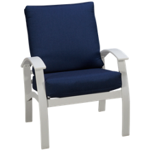 Telescope Casual Furniture Bell Cushion Belle Isle Cushion Arm Chair