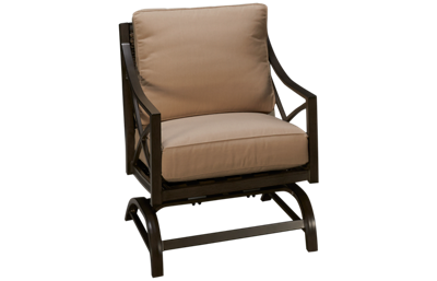 Agio International Davenport Deep Seating Platform Rocker