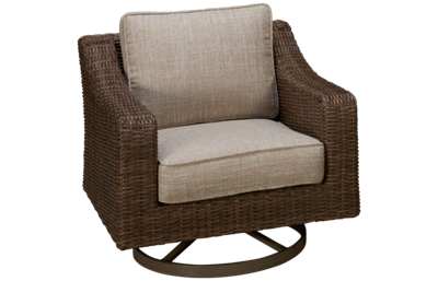Ashley Beachcroft Swivel Lounge Chair with Cushion