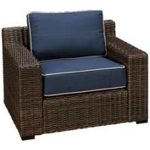 Ashley Grasson Lane Lounge Chair with Cushions