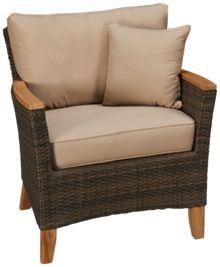 Scancom Polynesia Sofa Chair with Toss Pillow