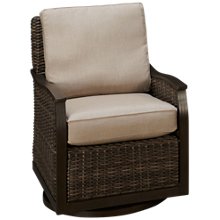 Agio International Trenton Swivel Lounge Chair