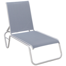 Telescope Casual Furniture Chaise Gardenella Sling Chaise